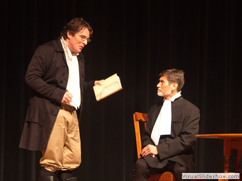 Cole Spivey as John Newon, Robert Vickers as William Cowper