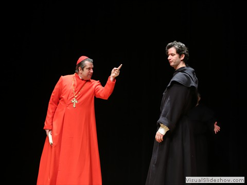 John C. Hogwood as Cardinal Thomas Cajetan in Martin Luther 2017